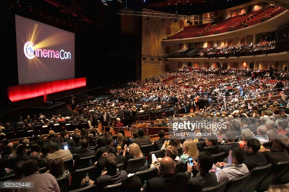 attends the CinemaCon 2016 Gala Opening Night Event: Paramount Pictures Highlights its 2016 Summer and Beyond Films at The Colosseum at Caesars Palace during CinemaCon, the official convention of the National Association of Theatre Owners, on April 11, 2016 in Las Vegas, Nevada.